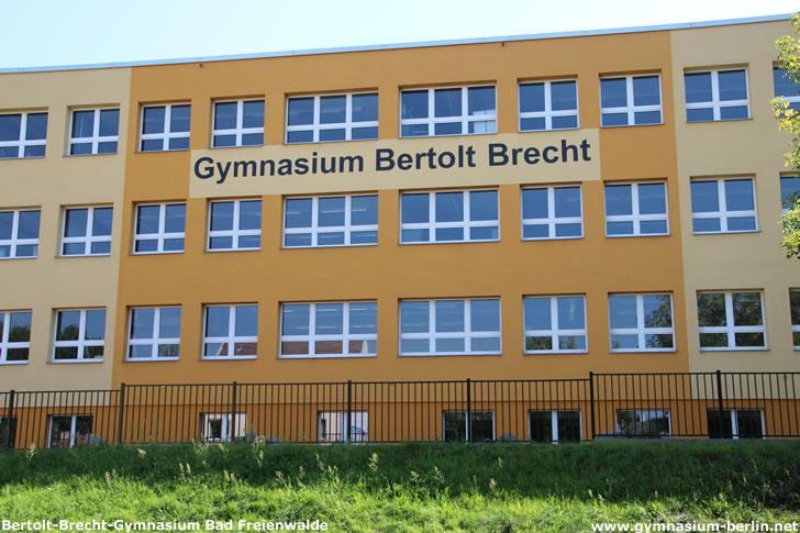 Bertolt-Brecht-Gymnasium Bad Freienwalde