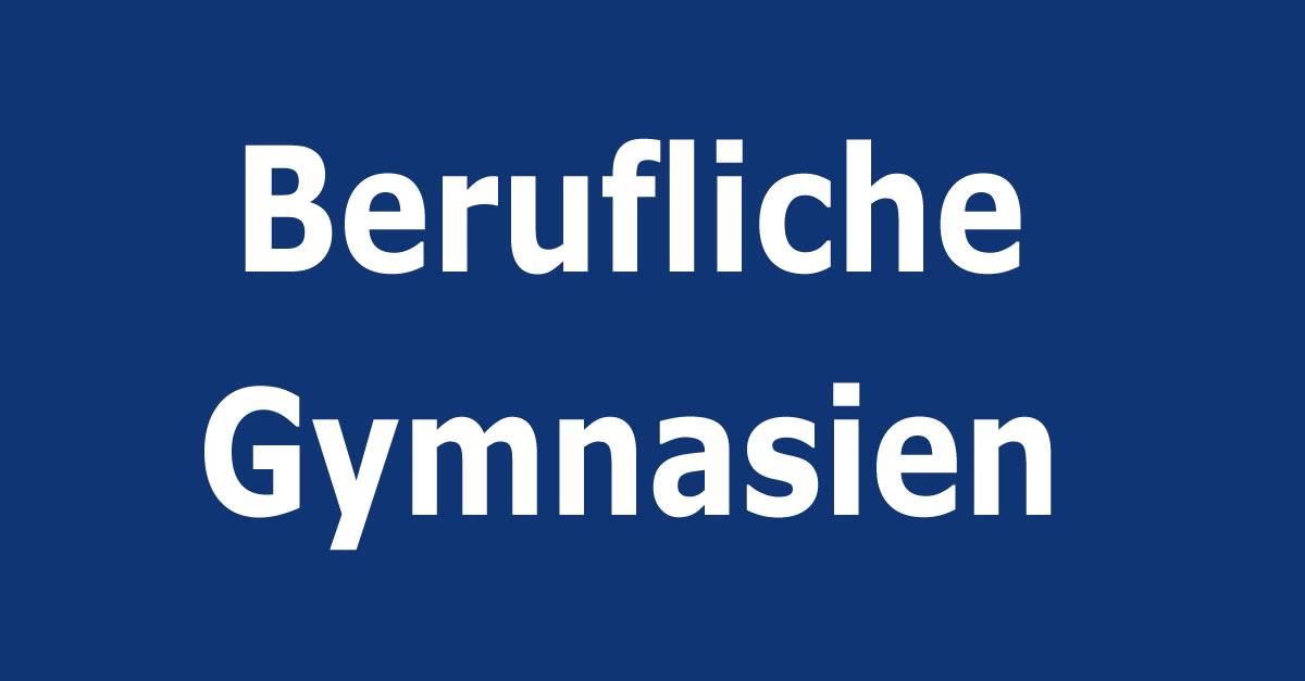 berufliche gymnasien gymnasien in berlin. Black Bedroom Furniture Sets. Home Design Ideas