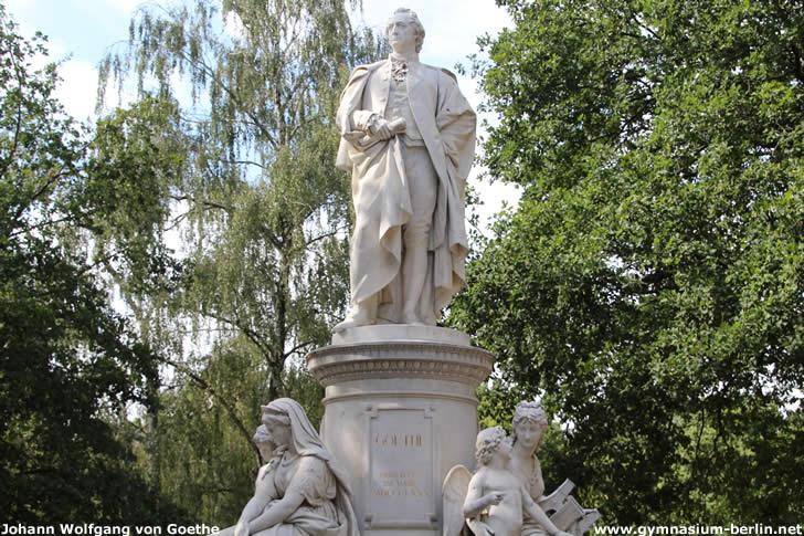 Goethe-Denkmal im Berliner Tiergarten