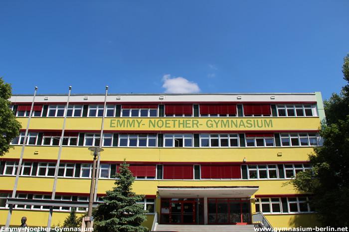 Emmy-Noether-Gymnasium | Gymnasium in Berlin Emmy Noether