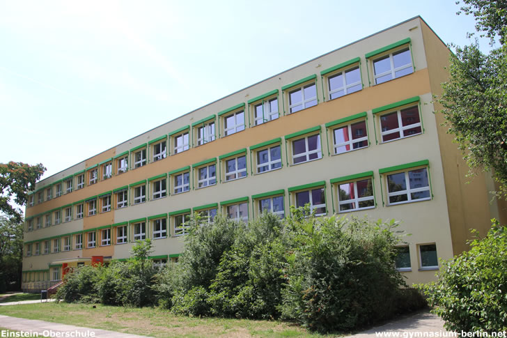 Einstein-Oberschule (heute Victor-Klemperer-Kolleg)