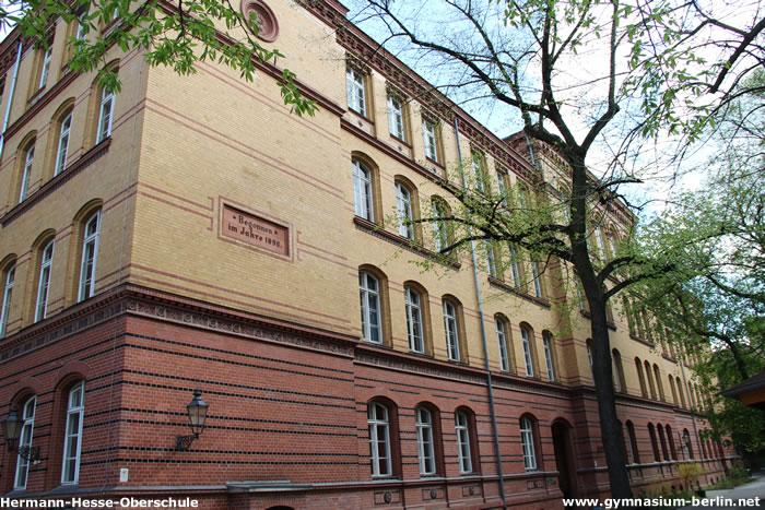 Hermann Hesse Gymnasium Gymnasium In Berlin