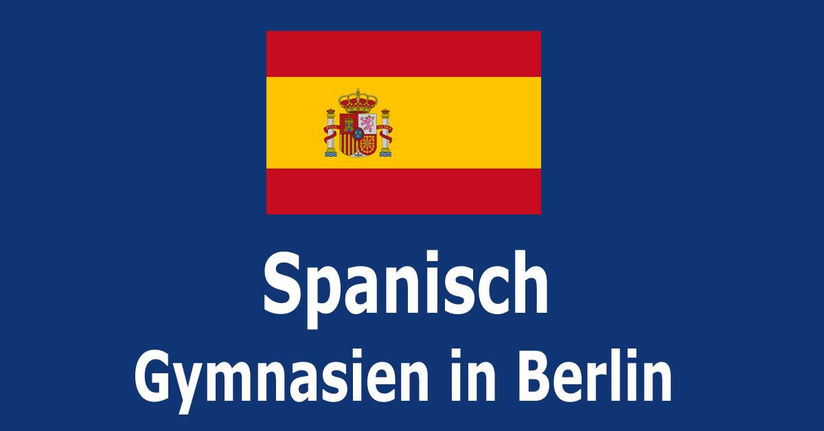 Spanisch An Berliner Gymnasien